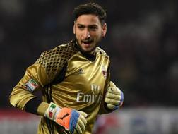 Gigio Donnarumma, 18 anni. Getty