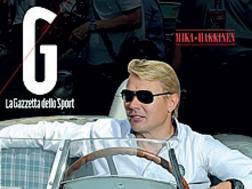 Mika Hakkinen in copertina sul Magazine Mille Miglia in omaggio con la Gazzetta