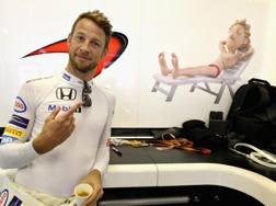 Jenson Button, 37 anni, campione del mondo nel 2009. Getty