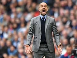 Pep Guardiola, 46 anni. Afp