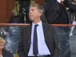 Enrico Preziosi, presidente e proprietario del Genoa. Ansa