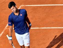 Novak Djokovic, battuto in semifinale a Madrid da Rafa Nadal. Afp