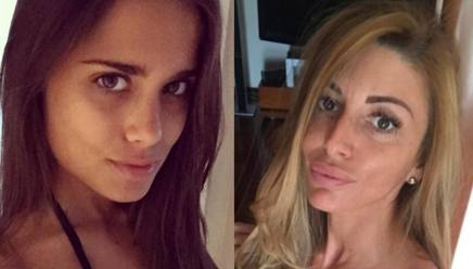 Antonella Cavalieri, lady Dybala e Andrea Travica, compagna di Milinkovic-Savic. Instagram