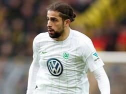 Ricardo Rodriguez, 24 anni, svizzero del Wolfsburg. Epa