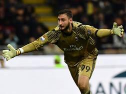 Gianluigi Donnarumma, 18 anni, ha il contratto in scadenza nel 2018. Afp