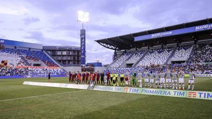 La finale del campionato Primavera 2015-16, giocata come quest'anno al Mapei Stadium di Reggio Emilia. LaPresse