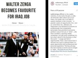 Il post di Walter Zenga su Instagram