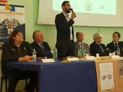 Il tavolo ad Ascoli: Legnante, Birarelli e Elkann