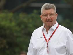Ross Brawn , 62 anni, responsabile sport del gruppo Formula 1 che ora gestisce i GP