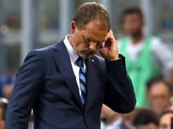 Frank de Boer, 47 anni, ex allenatore olandese dell'Inter. Ansa