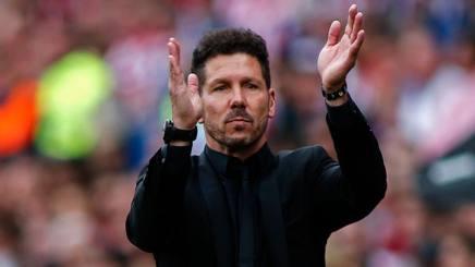 Diego Pablo Simeone, 47 anni, allenatore dell'Atletico Madrid. Afp