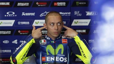 Valentino Rossi, 38 anni. Epa