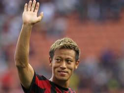 Keisuke Honda, 30 anni. Getty