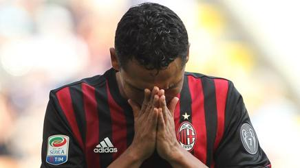 Carlos Arturo Bacca Ahumada, 30 anni, attaccante colombiano del Milan. Getty Images