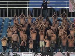 I tifosi del Palermo sono venuti in trasferta a Pescara nonostante la retrocessione. Getty Images