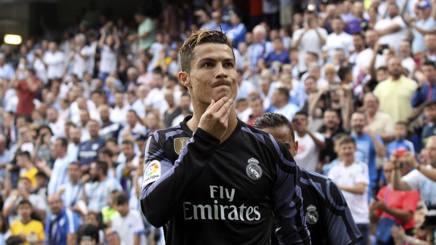 Cristiano Ronaldo, 32 anni. Lapresse