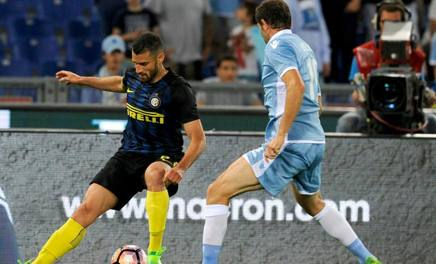 Antonio Candreva, prima stagione all'Inter. Getty