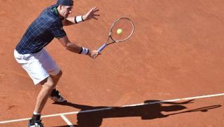 John Isner nella semifinale persa con Zverev. Getty Images