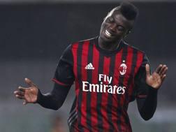M'Baye Niang, 22 anni, attaccante francese del Milan in prestito al Watford. LaPresse