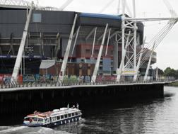 Un'immagine del Millenium Stadium di Cardiff.