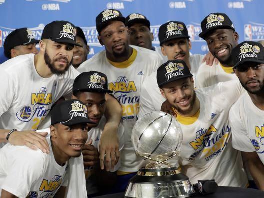 I Warriors campioni dell'Ovest. Ap