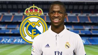 Vinicius Junior, 16 anni, nuovo attaccante del Real Madrid