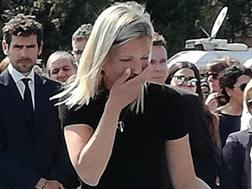 Anna Scarponi, vedova di Michele. Ansa
