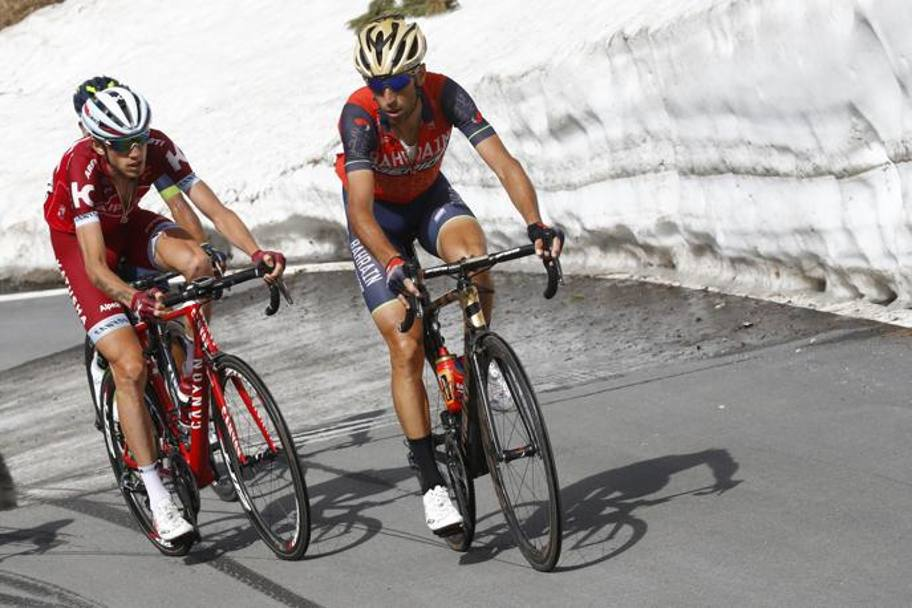 Nibali e Zakarin, la strada sale. Bettini