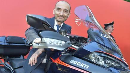 Claudio Domenicali, a.d. di Ducati Motor Holding