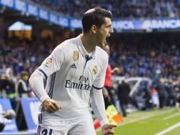 Alvaro Morata, 24 anni, attaccante spagnolo del Real Madrid. Getty