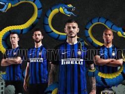 L'anteprima della nuova maglia nerazzurra. Tra i testimonial anche Ivan Perisic. Footy Headlines