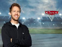 Sebastian Vettel doppiatore per Cars 3