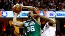 Marcus Smart in azione. Afp