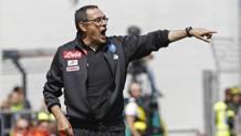 Maurizio Sarri, tecnico del Napoli, 58 anni. Ansa