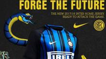 La foto pubblicata sul sito ufficiale dell'Inter