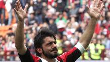 Gennaro Ivan Gattuso, 39 anni, all'ultima partita con il Milan il 13 maggio 2012. Ansa