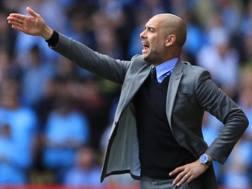 Josep Guardiola i Sala, 46 anni, allenatore del Manchester City. Getty Images