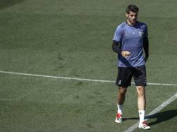 Alvaro Morata, 24 anni, è tornato al Real Madrid in estate, ma non è mai stato protagonista. LaPresse