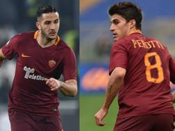 Kostas Manolas, 25 anni, e Diego Perotti, 28. Getty Images