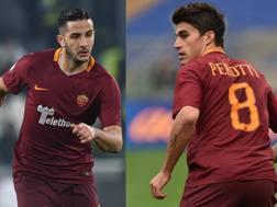 Kostas Manolas, 25 anni, e Diego Perotti, 28. Getty Images