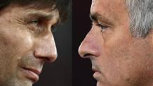 Antonio Conte e Josè Mourinho. GETTY