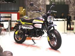 Il concept della Monkey presentato dalla Honda
