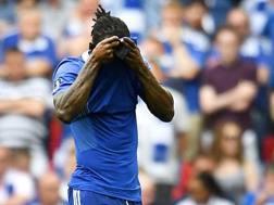 Victor Moses, centrocampista nigeriano del Chelsea, 26 anni. Epa