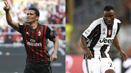 Carlos Bacca, 30 anni, e Kwadwo Asamoah, 28 anni. Gasport