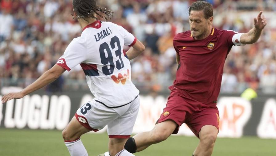 Roma, è festa per Totti E Perotti blinda il 2° posto