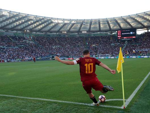 Francesco Totti, 40 anni.