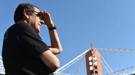Maurizio Sarri, 58 anni. Lapresse