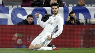 Alvaro Morata, 24 anni, tornato al Real Madrid un anno fa, dopo due stagioni con la Juventus. Ansa