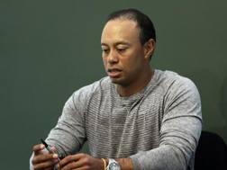 L'americano Tiger Woods. AP