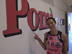 Eleonora Lo Bianco, 37 anni, nuova giocatrice della Pomì Casalmaggiore